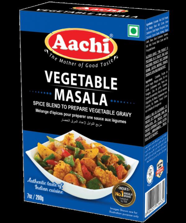 Vegetable Masala - Asijah Europe