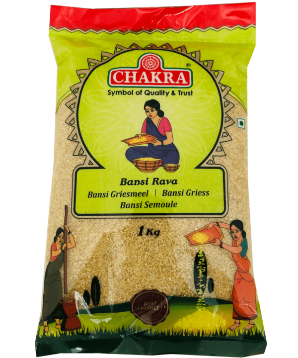 Chakra Bansi Rava - Asijah Europe
