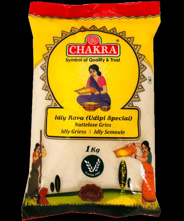 Chakra Idly Rava Udipi Special - Asijah Europe