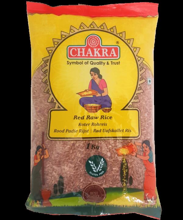 Chakra Red Raw Rice Polished - Asijah Europe