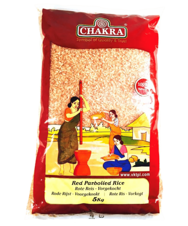 Red Parboiled Rice - Asijah Europe