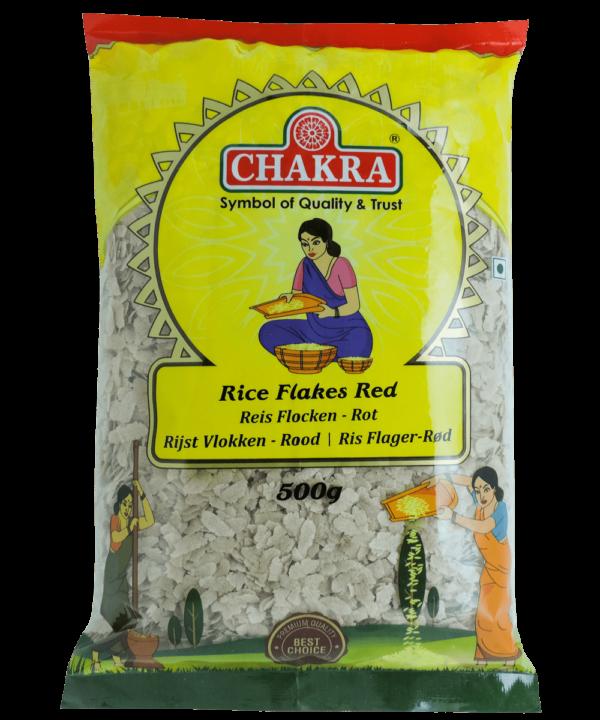 Chakra Rice Flakes Red - Asijah Europe