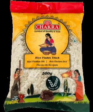 Chakra Rice Flakes Thick - Asijah Europe