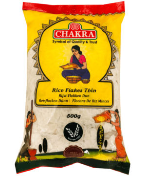 Chakra Rice Flakes Thin - Asijah Europe