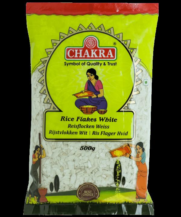 Chakra Rice Flakes White - Asijah Europe