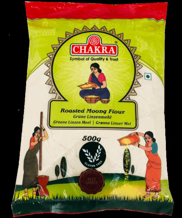 Chakra Roasted Moong Flour - Asijah Europe