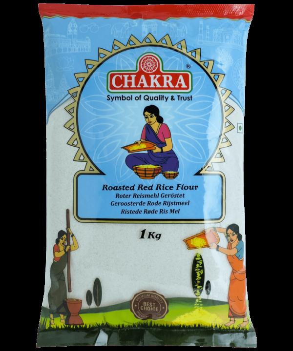 Chakra Roasted Red Rice Flour - Asijah Europe