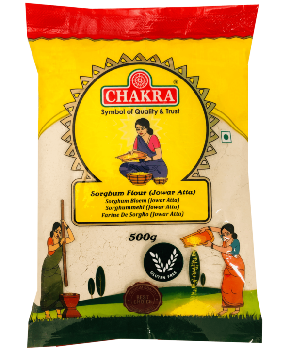 Chakra Sorghum Flour Jowar Atta - Asijah Europe