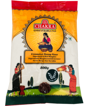 Chakra Unroasted Moong Flour - Asijah Europe