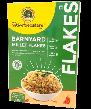 Native Food Store Barnyard Millet Flakes - Asijah Europe