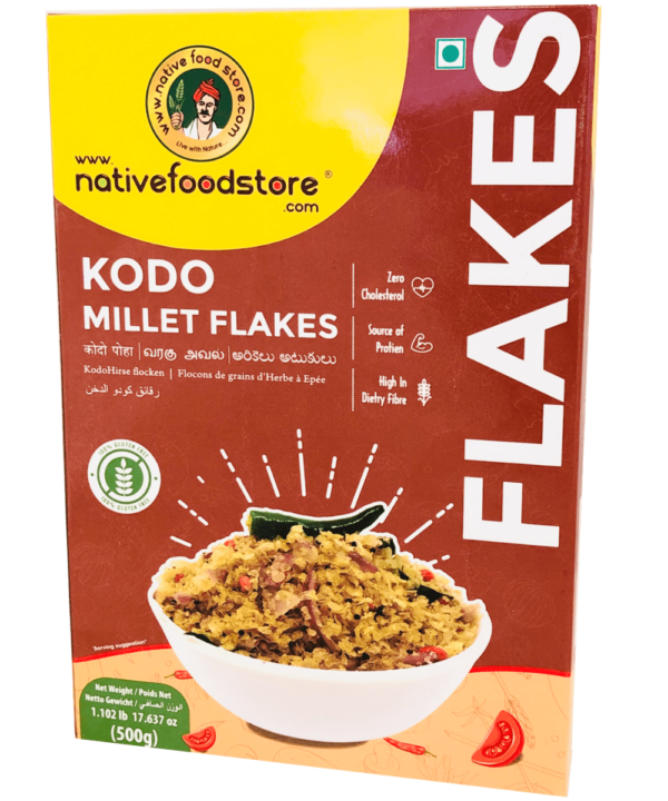 Native Food Store Kodo Millet Flakes - Asijah Europe