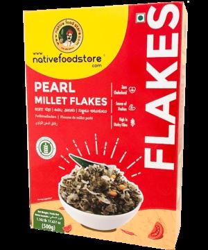 Native Food Store Pearl Millet Flakes - Asijah Europe