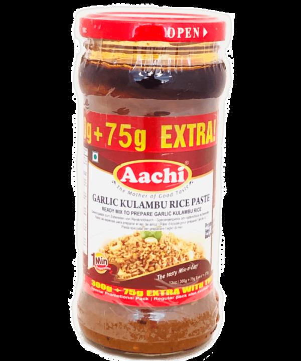 Aachi Garlic Kulambu Rice Paste - Asijah Europe