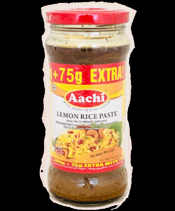Aachi Lemon Rice Paste - Asijah Europe