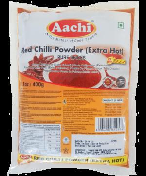 Aachi Red Chilli Powder Extra Hot - Asijah Europe