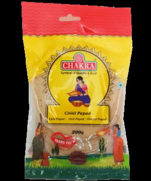 Chakra Chilli Papad - Asijah Europe