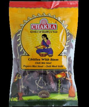 Chakra Chillies With Stem - Asijah Europe