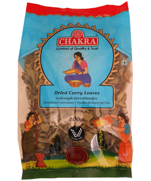 Chakra Dried Curry Leaves - Asijah Europe