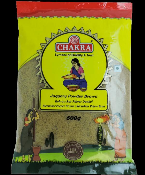 Chakra Jaggery Powder Brown - Asijah Europe