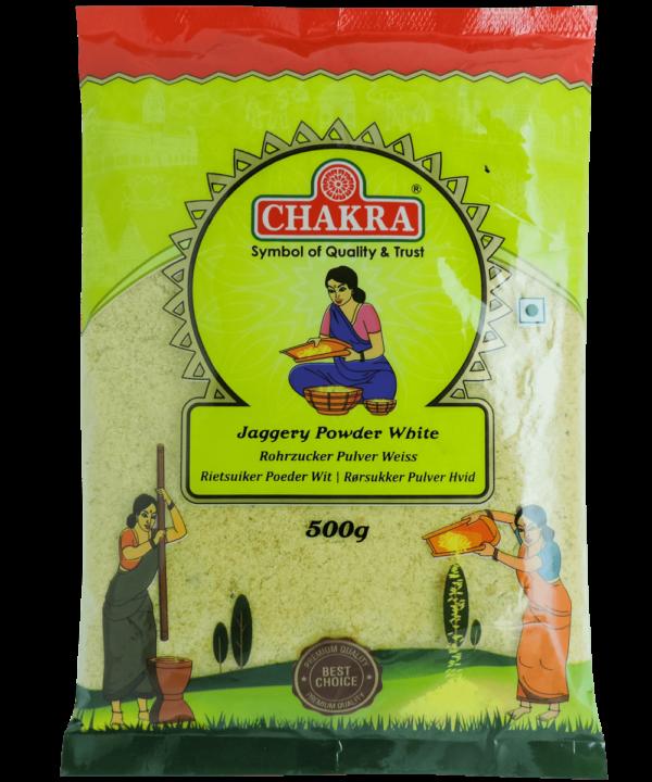 Chakra Jaggery Powder White - Asijah Europe