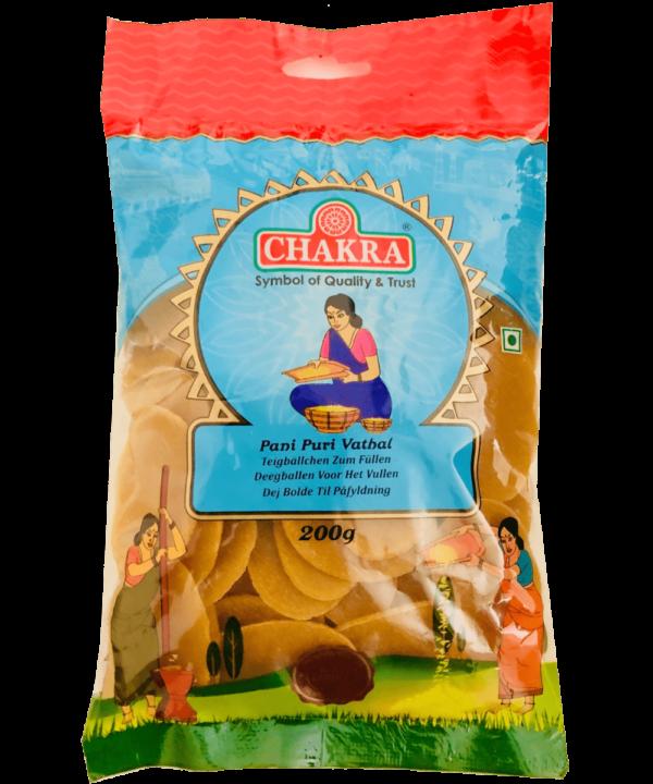 Chakra Pani Puri Vathal - Asijah Europe