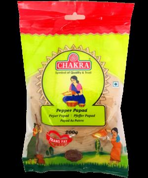 Chakra Pepper Papad - Asijah Europe
