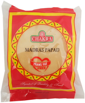 Chakra Madras Papad - Asijah Europe