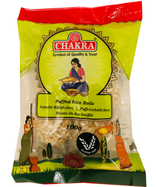 Chakra Puffed Rice Balls - Asijah Europe