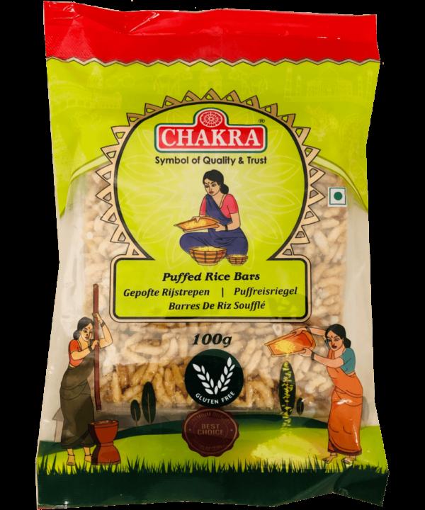 Chakra Puffed Rice Bars - Asijah Europe
