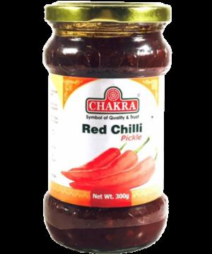 Chakra Red Chilli Pickle - Asijah Europe