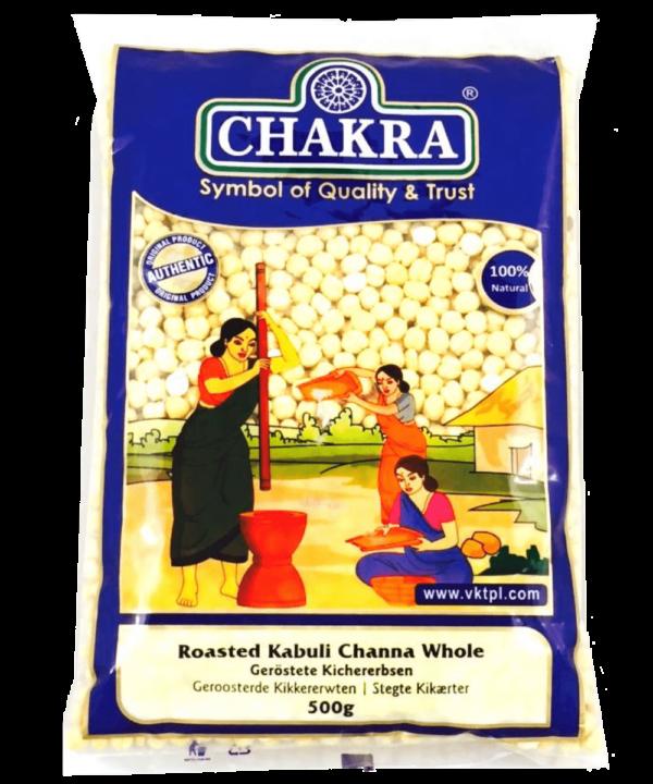 Chakra Roasted Kabuli Channa Whole - Asijah Europe