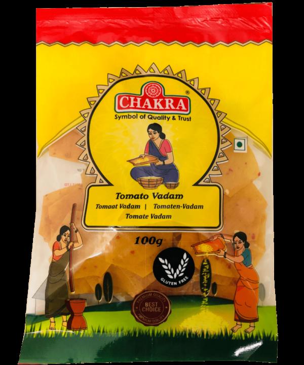 Chakra Tomato Vadam - Asijah Europe