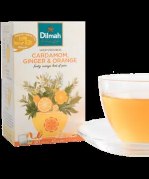 Dilmah Cardamom Ginger & Orange Tea - Asijah Europe
