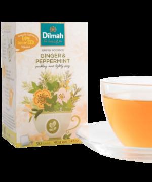 Dilmah Ginger & Peppermint Tea - Asijah Europe