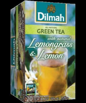 Dilmah Lemongrass & Lemon Green Tea - Asijah Europe