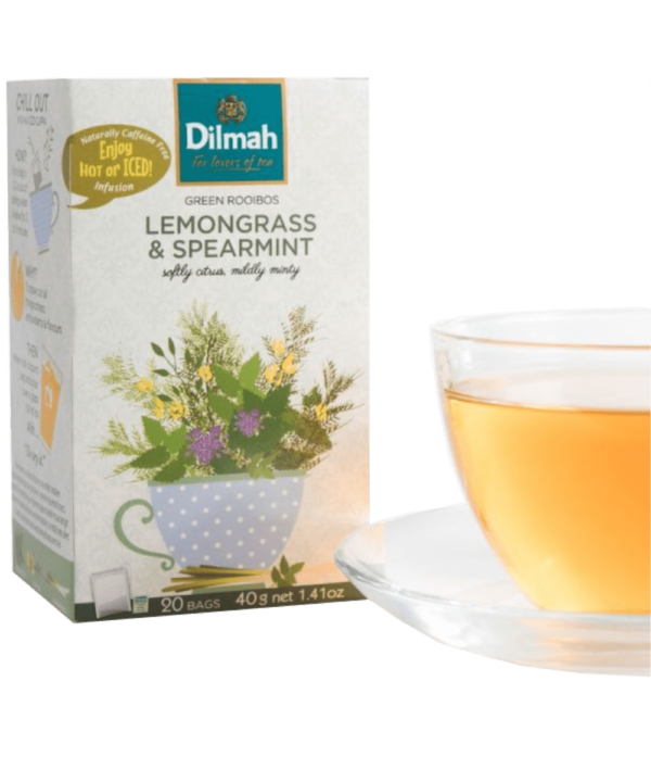 Dilmah Lemongrass & Spearmint Tea - Asijah Europe