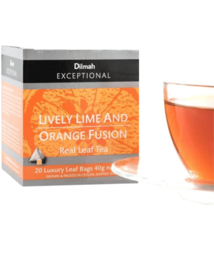 Dilmah Lively Lime & Ornage Fusion Tea - Asijah Europe
