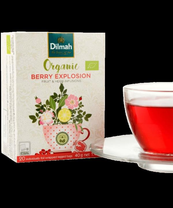 Dilmah Organic Berry Explosion Tea - Asijah Europe