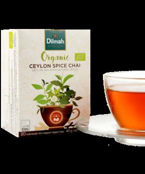 Dilmah Organic Ceylon Spice Chai Tea - Asijah Europe
