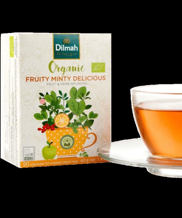 Dilmah Organic Fruity Minty Delicious Tea - Asijah Europe
