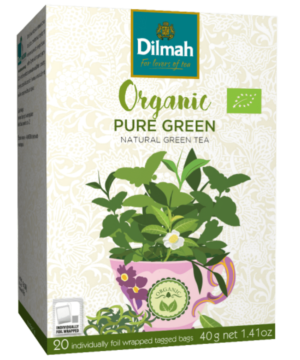 Dilmah Organic Pure Green Tea - Asijah Europe