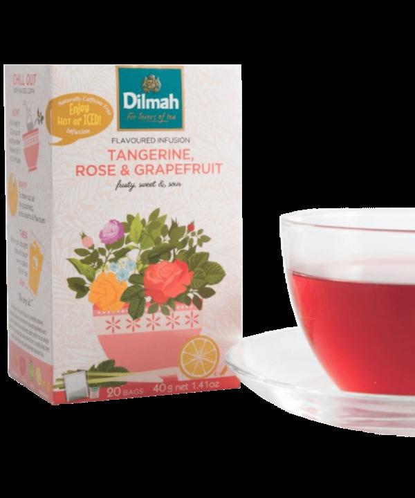 Dilmah Tangerine Rose & Grapefruit Tea - Asijah Europe