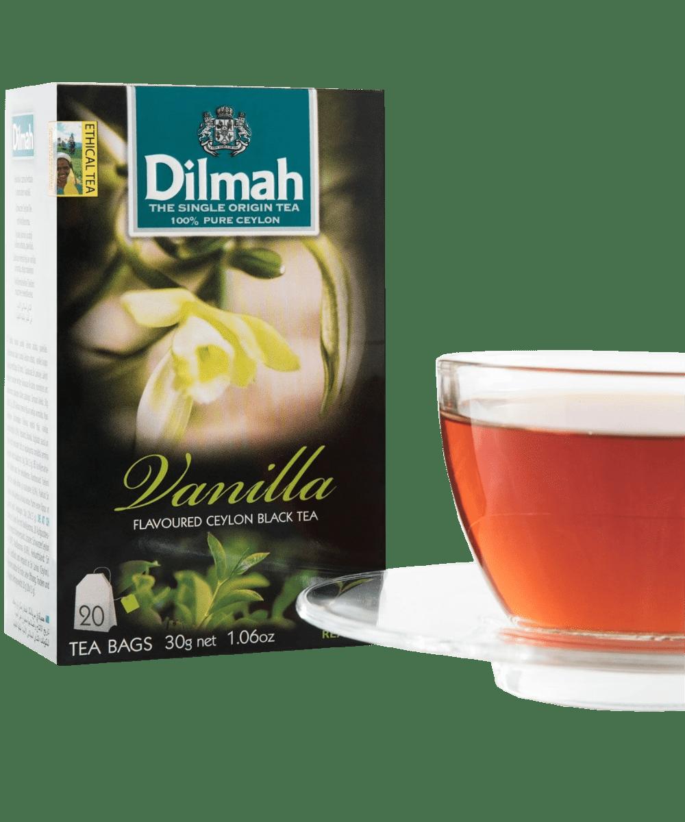 Dilmah Vanilla Ceylon Black Tea - Asijah Europe