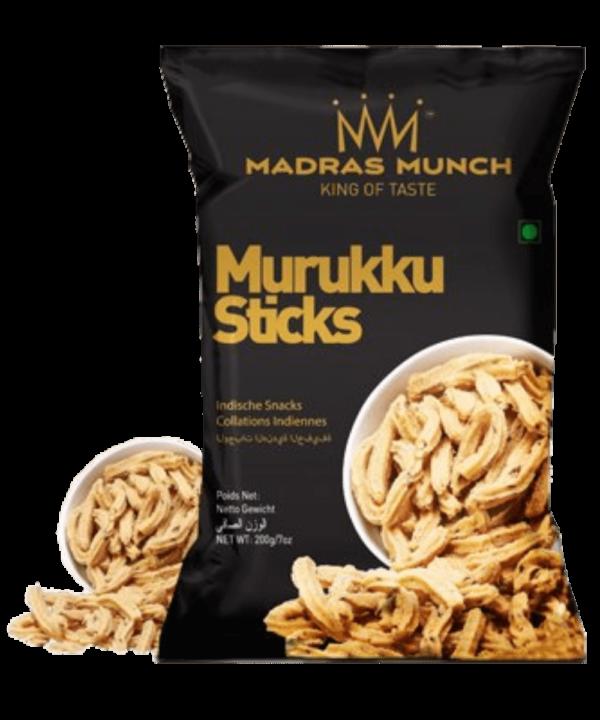 Madras Munch Murukku Sticks - Asijah Europe