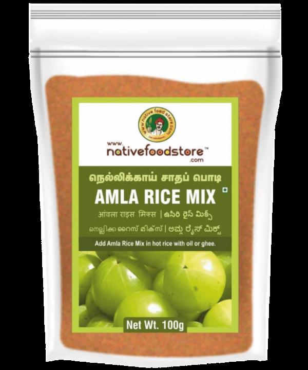 Native Food Store Amla Rice Mix - Asijah Europe