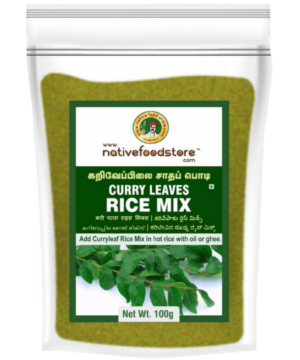 Native Food Store Curry Leaves Rice Mix - Asijah Europe