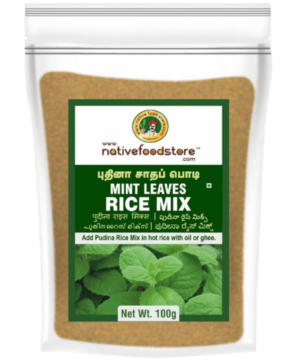 Native Food Store Mint Leaves Rice Mix - Asijah Europe