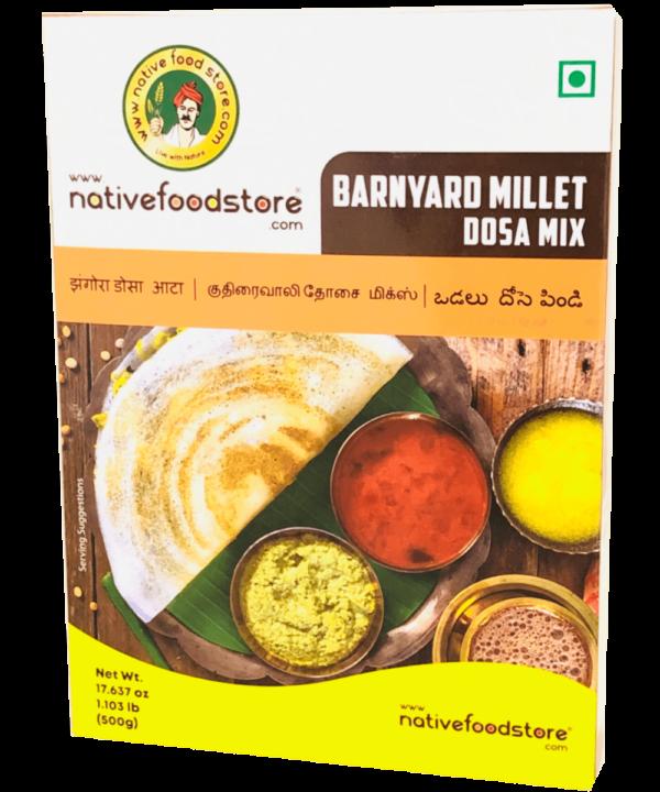 Native Food Store Barnyard Millet Dosa Mix - Asijah Europe