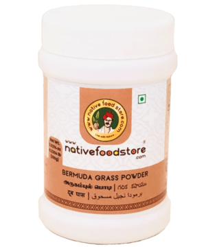 Native Food Store Bermuda Grass Powder - Asijah Europe