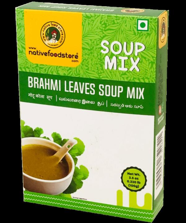 Native Food Store Brahmi Leaves Soup Mix - Asijah Europe